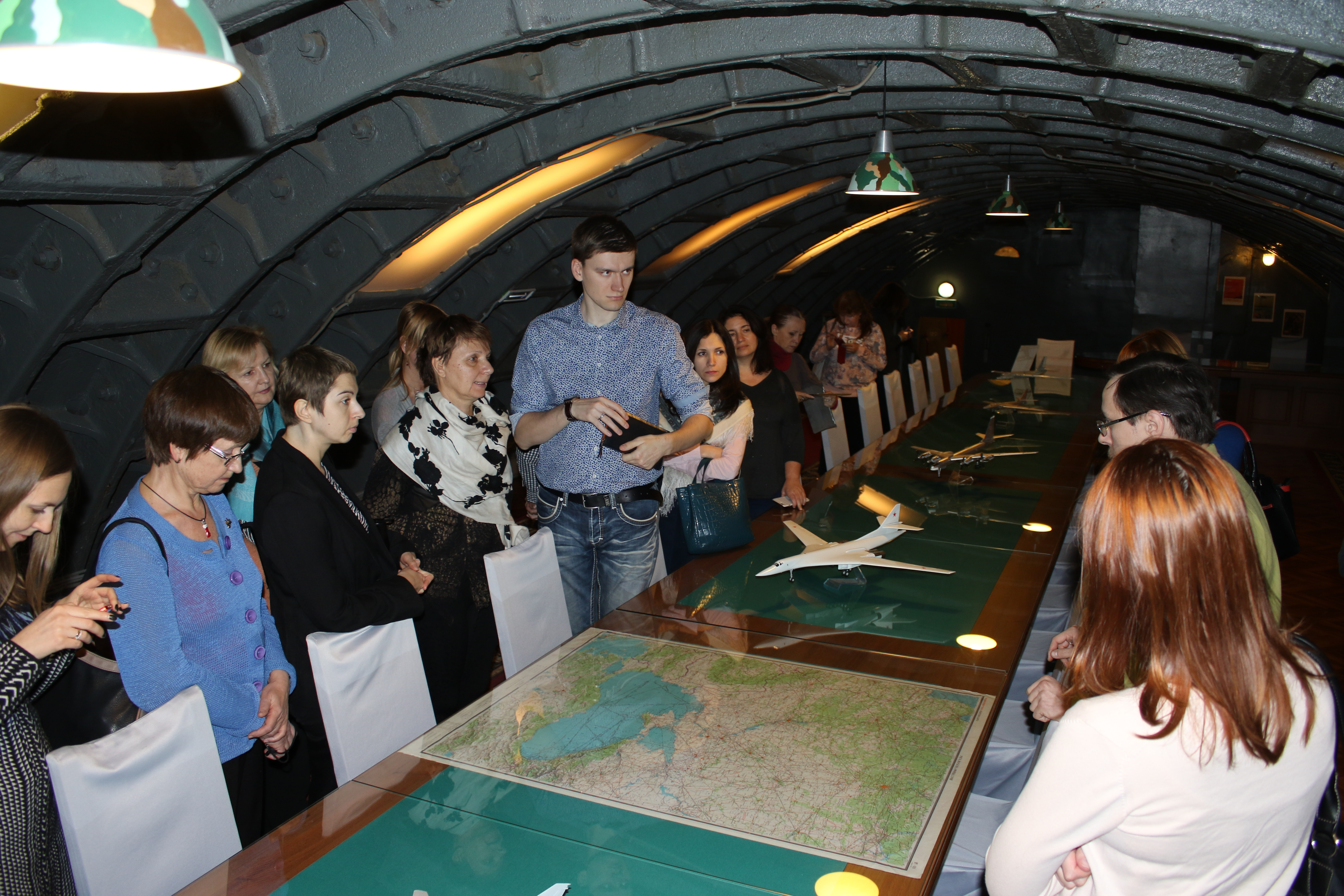 "Study tour in ""Bunker-42"""